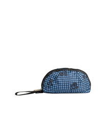 LeSportsac - Accessories - Pleated Wristlet - Floral Houndstooth print