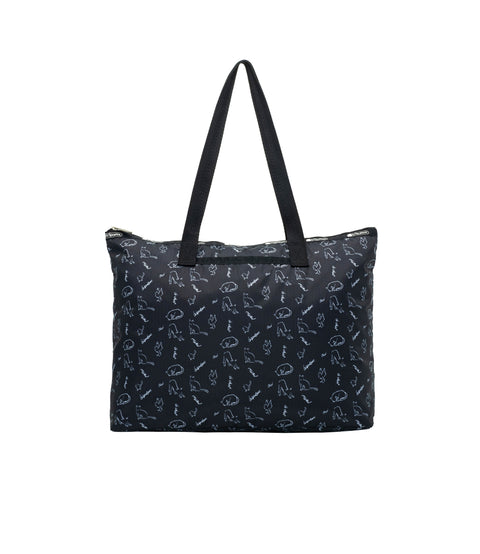 Basic East/West Tote alternative