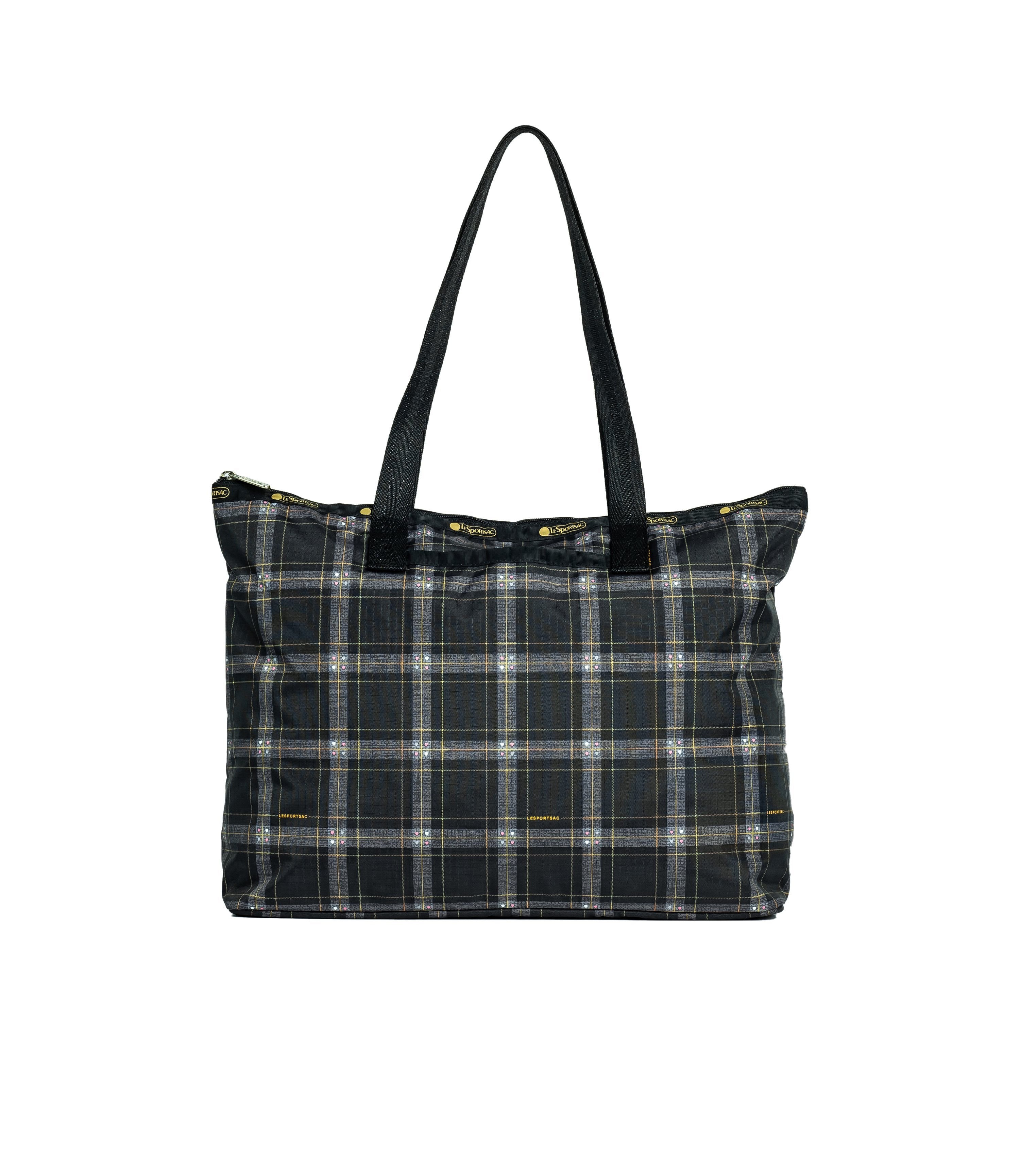LeSportsac - Totes - Basic East/West Tote - Sweet Plaid Noir print