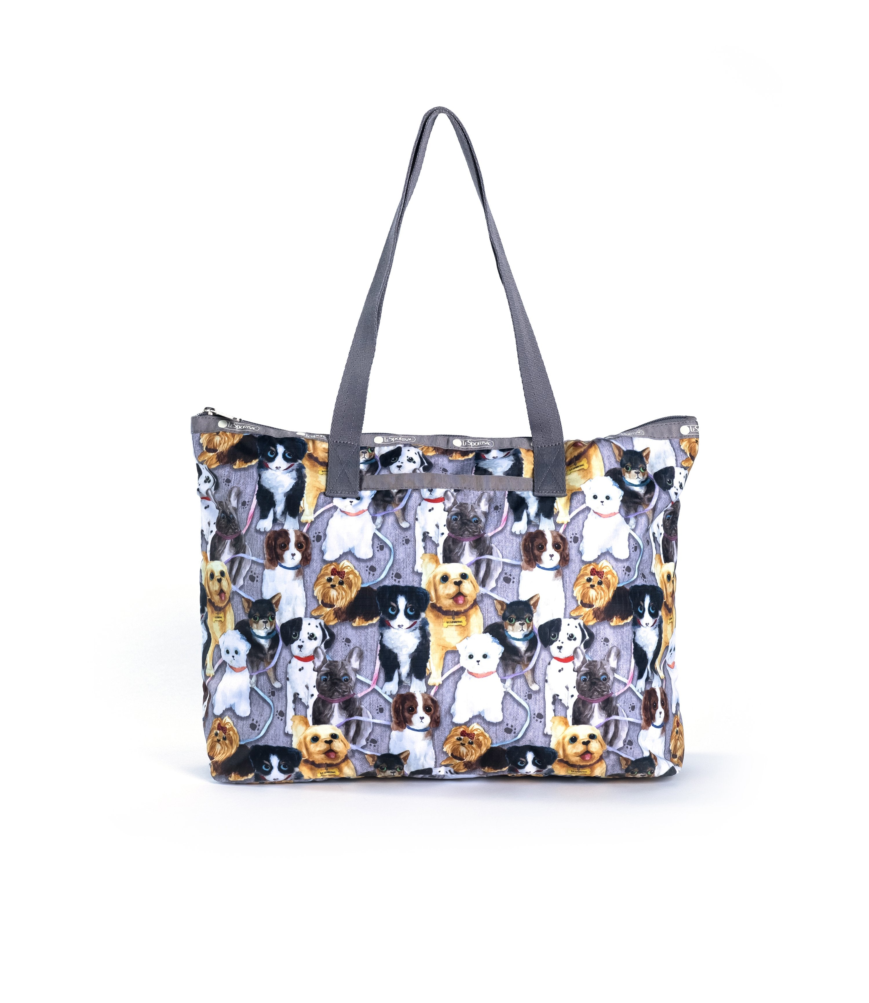 LeSportsac - Basic East/West Tote - Totes - Puppy Park print