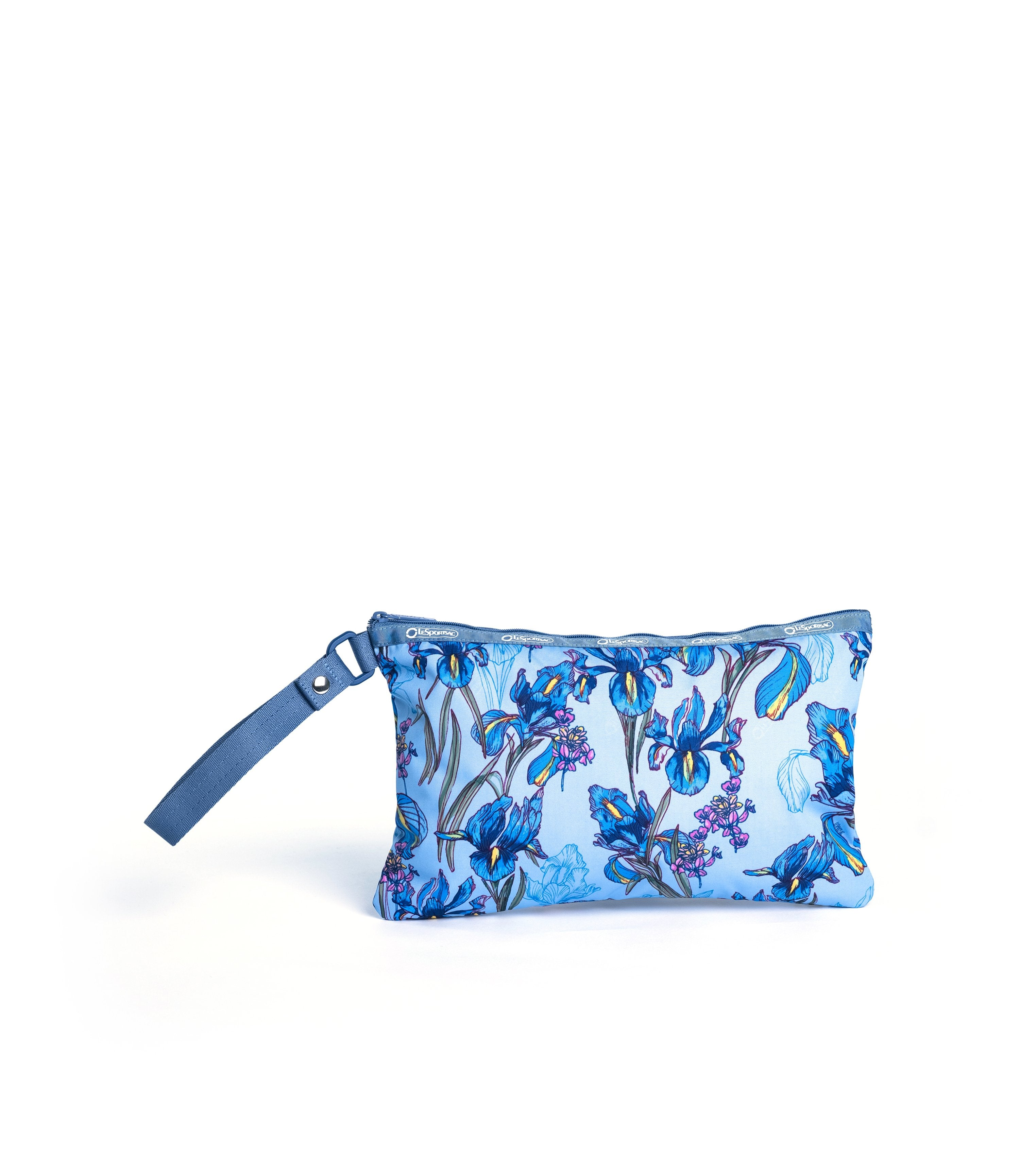 LeSportsac - Recycled Wristlet Pouch - Accessories - Eco Iris Garden print