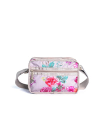 LeSportsac - Recycled Cube Crossbody - Handbags - Eco Rose Garden print