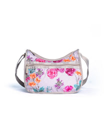 LeSportsac - Recycled Classic Hobo - Handbags - Eco Rose Garden print