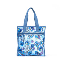 LeSportsac - Recycled Large North/South Tote - Totes - Eco Iris Garden print