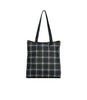 Sweet Plaid Noir print