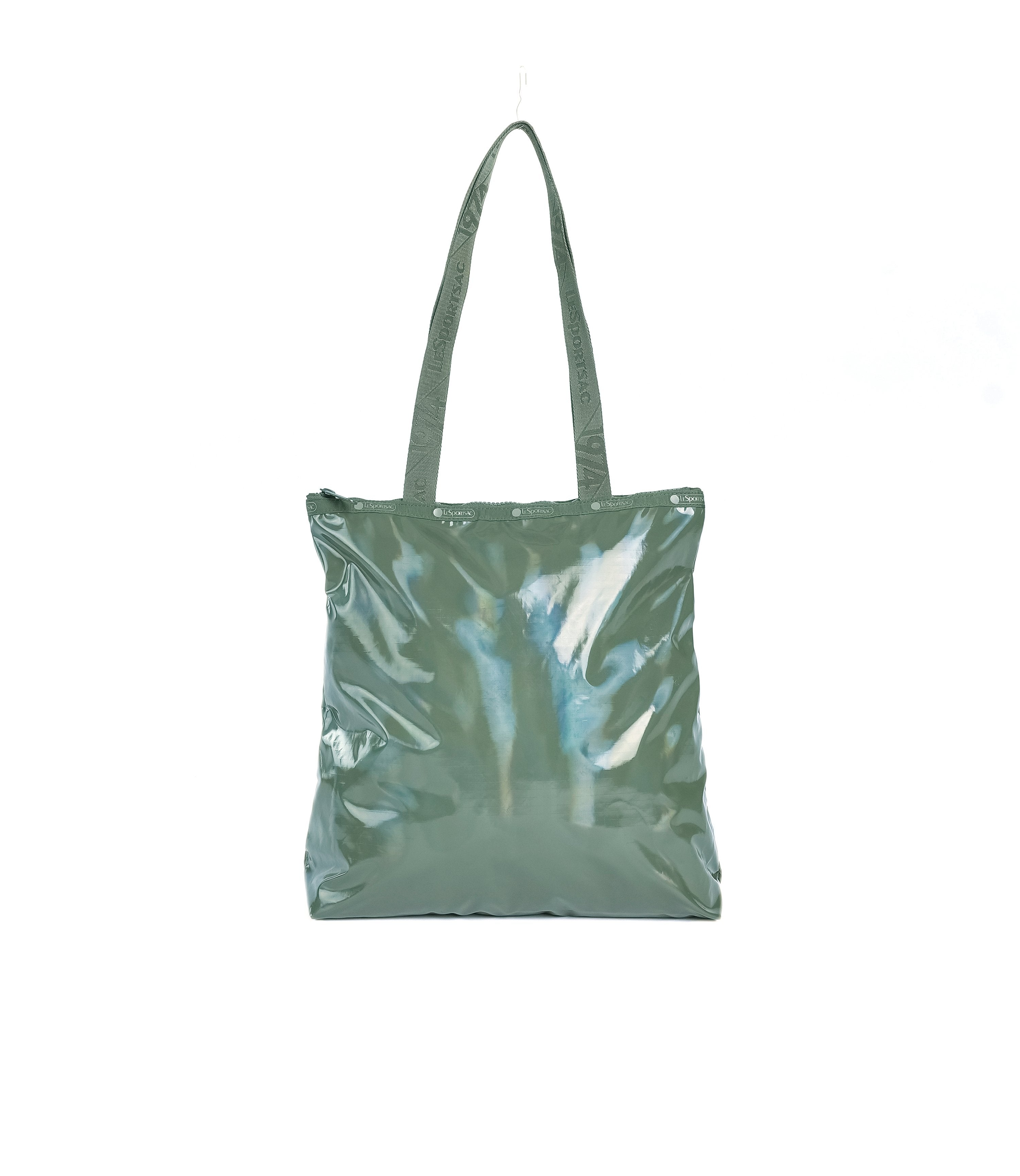 LeSportsac - Easy Magazine Tote - Totes - Shiny Willow Patent