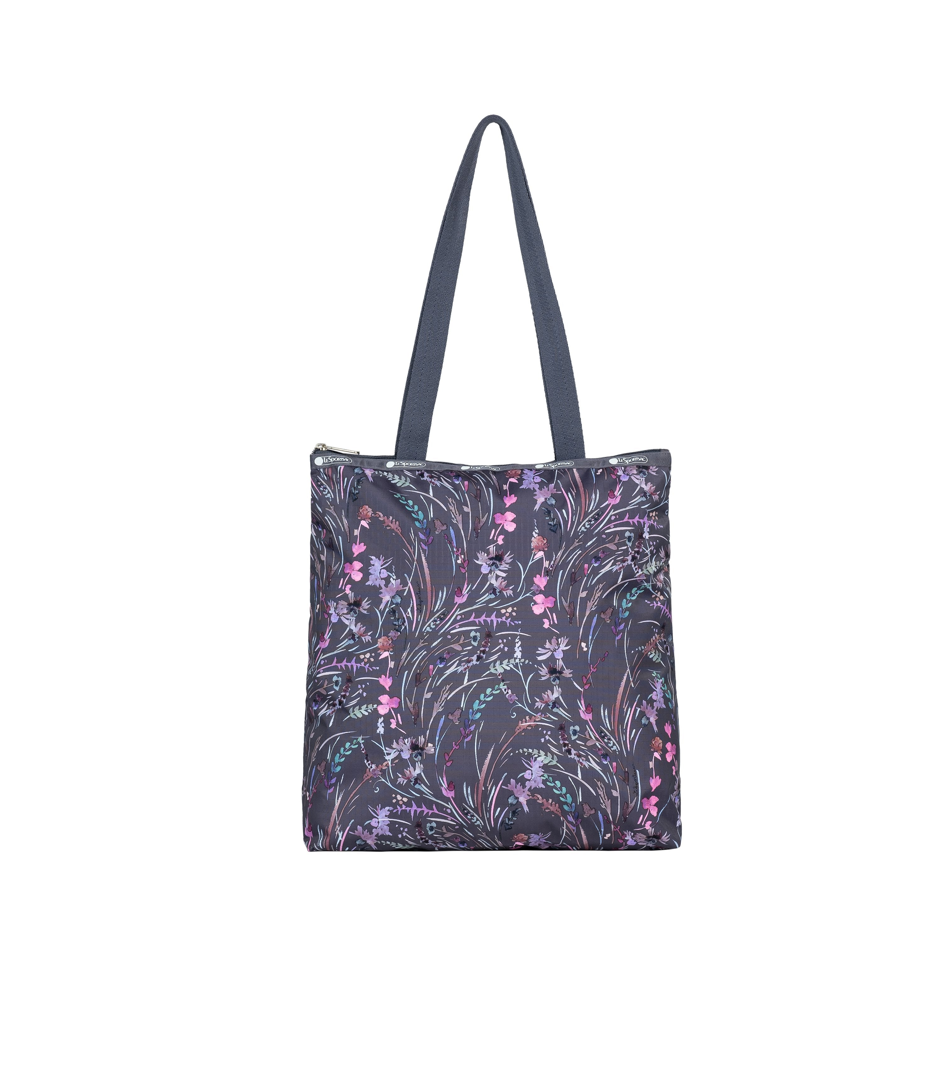 LeSportsac - Totes - Easy Magazine Tote - Windswept Floral Shadow print
