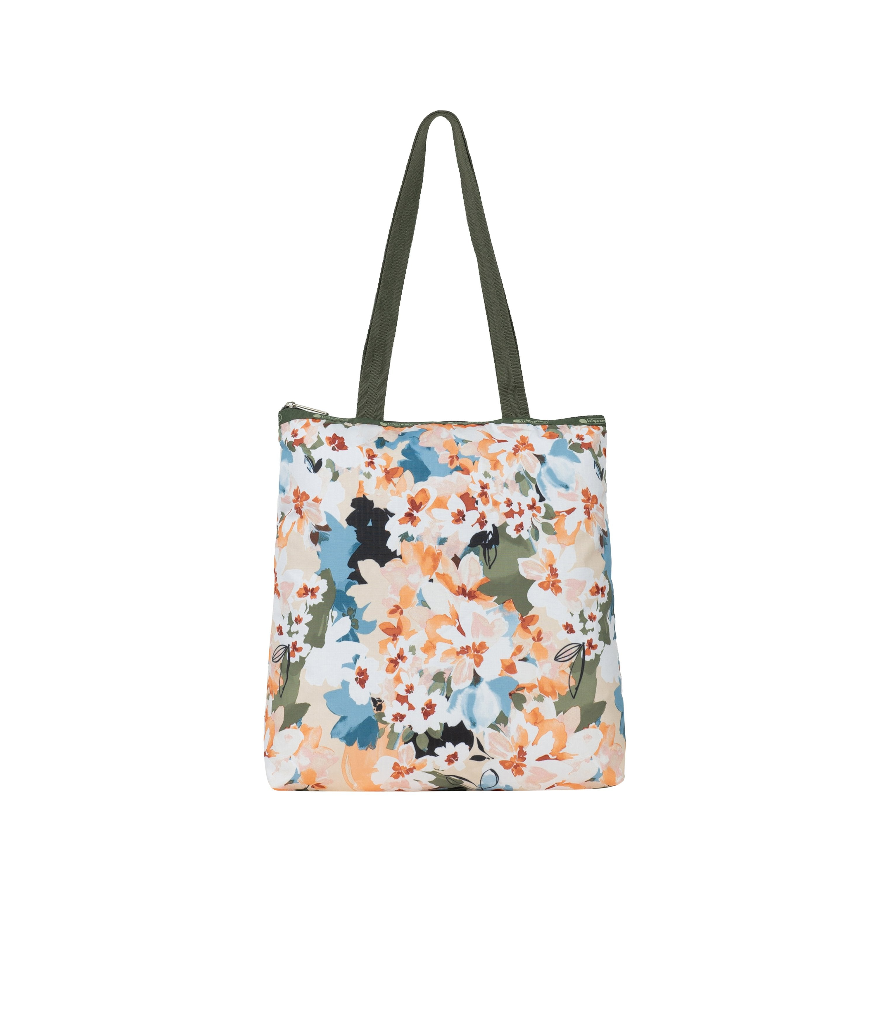 LeSportsac - Totes - Easy Magazine Tote - Painterly Blooms print