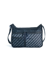 LeSportsac - Deluxe Logo Everyday Bag - Handbags - Downtown Diagonal print