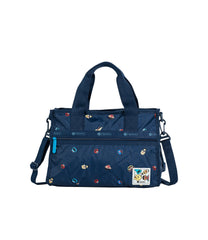 LeSportsac - Totes - Deluxe Small East/West Tote - Sesame Neighbors