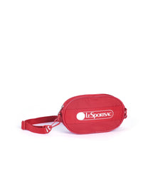 LeSportsac - Deluxe Logo Belt Bag - Accessories - Heritage Scarlet