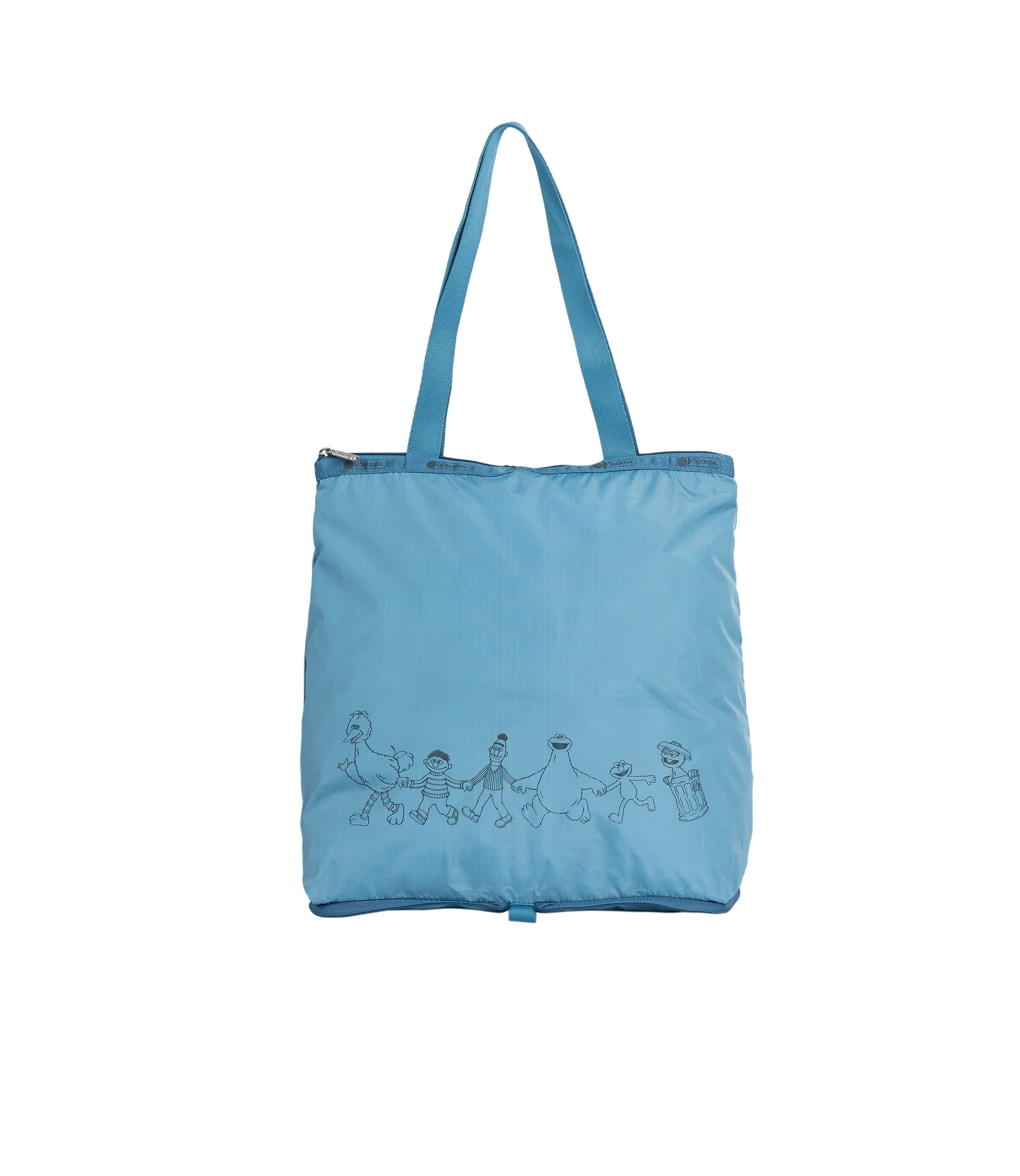 LeSportsac - Totes - Travel Packable Tote - Sesame Friends