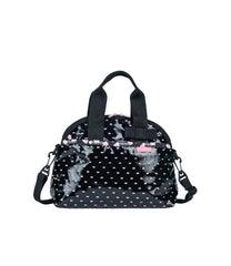 LeSportsac - Bow Dome Bag - Hello Kitty Perf Noir - Handbags