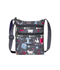 LeSportsac - Handbags - 3-Zip Mini Crossbody - Yarn Pals print
