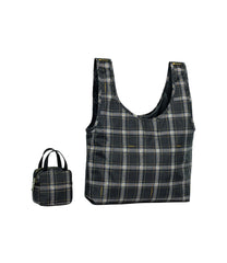 LeSportsac - Totes - Box Bag and Tote - Sweet Plaid Noir print