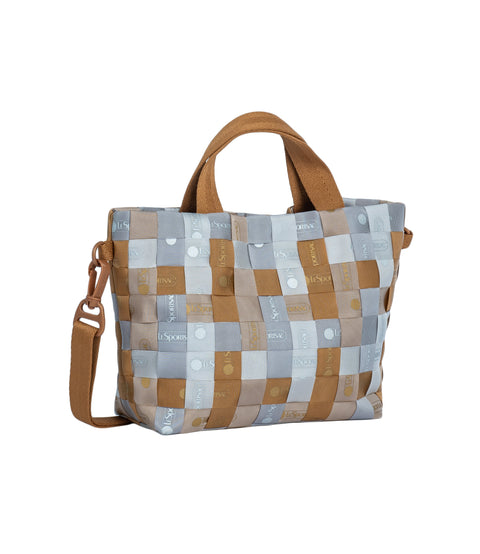 Woven Logo Mini Tote alternative 2