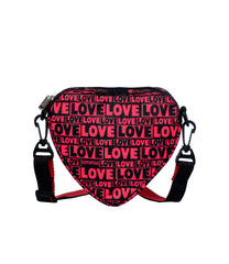 LeSportsac - Handbags - Heart Crossbody Bag - Only Love print