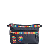 LeSportsac - ReCycled Hello Kitty Cosmetic Clutch - Black SDGs Hello Kitty - Accessories
