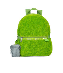 LeSportsac - Backpacks - Small Furry Carrier Backpack - Oscar The Grouch