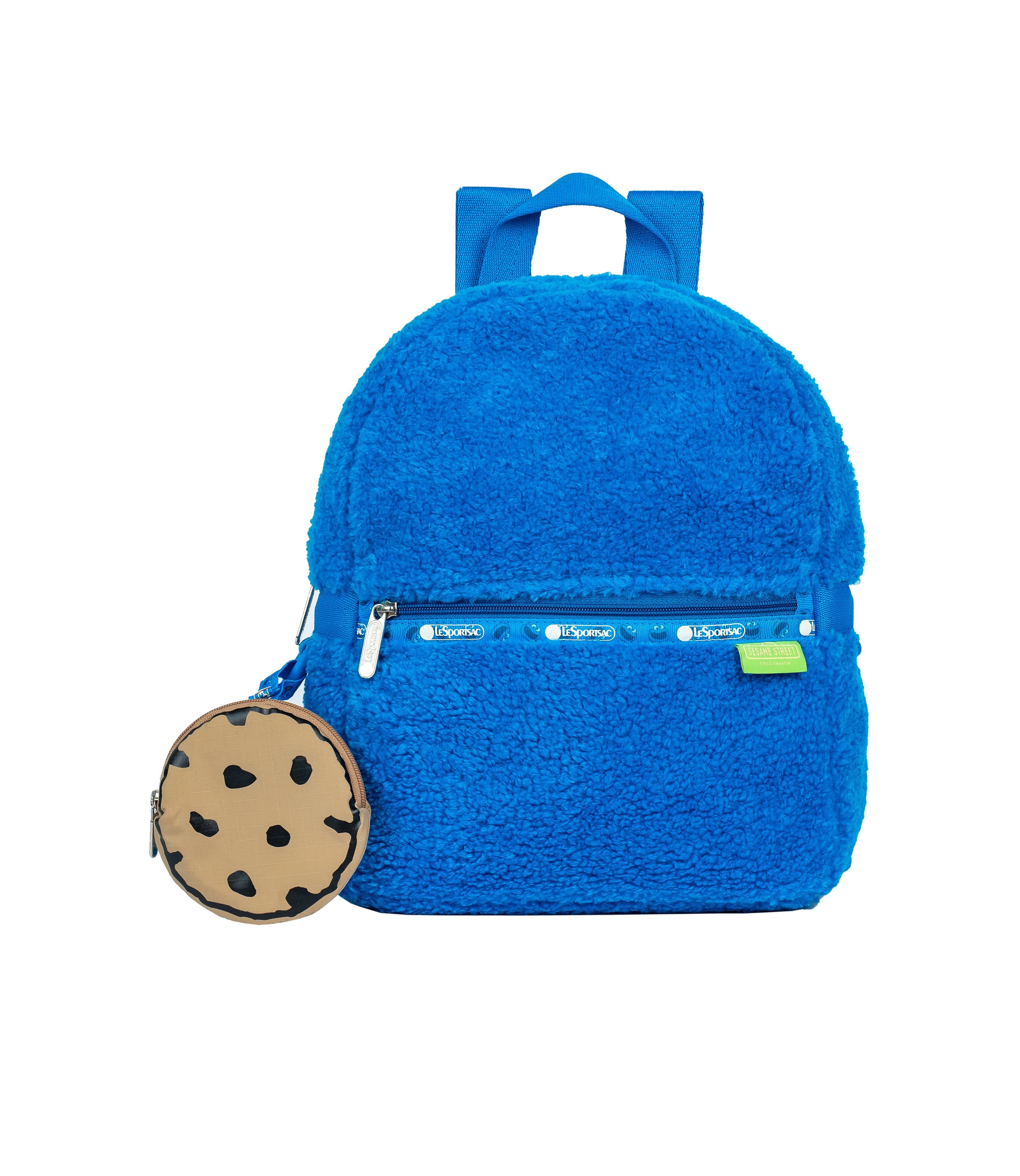 LeSportsac - Backpacks - Small Furry Carrier Backpack - Cookie Monster