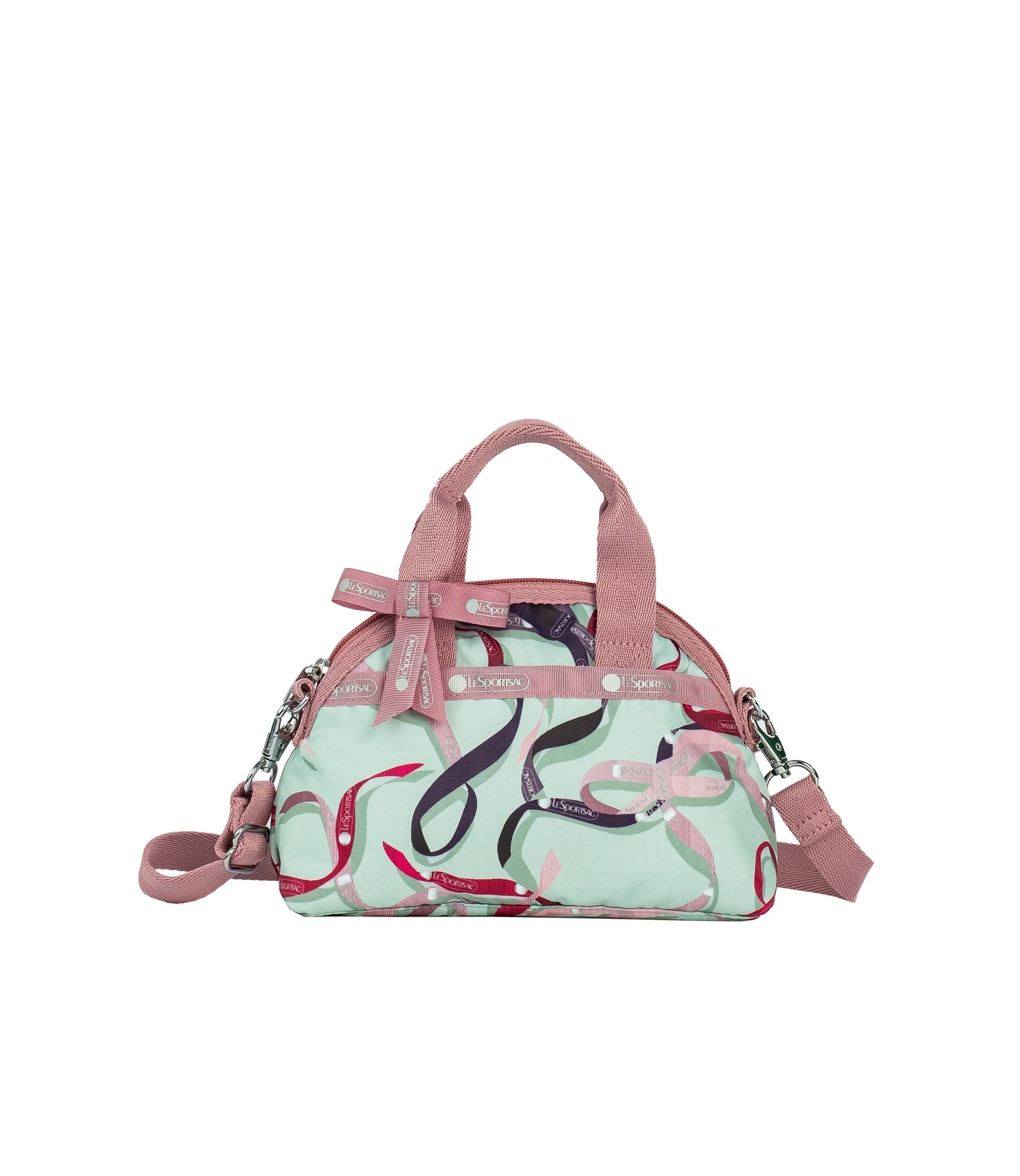 LeSportsac - Handbags - Bow Mini York Satchel - Ribbons print