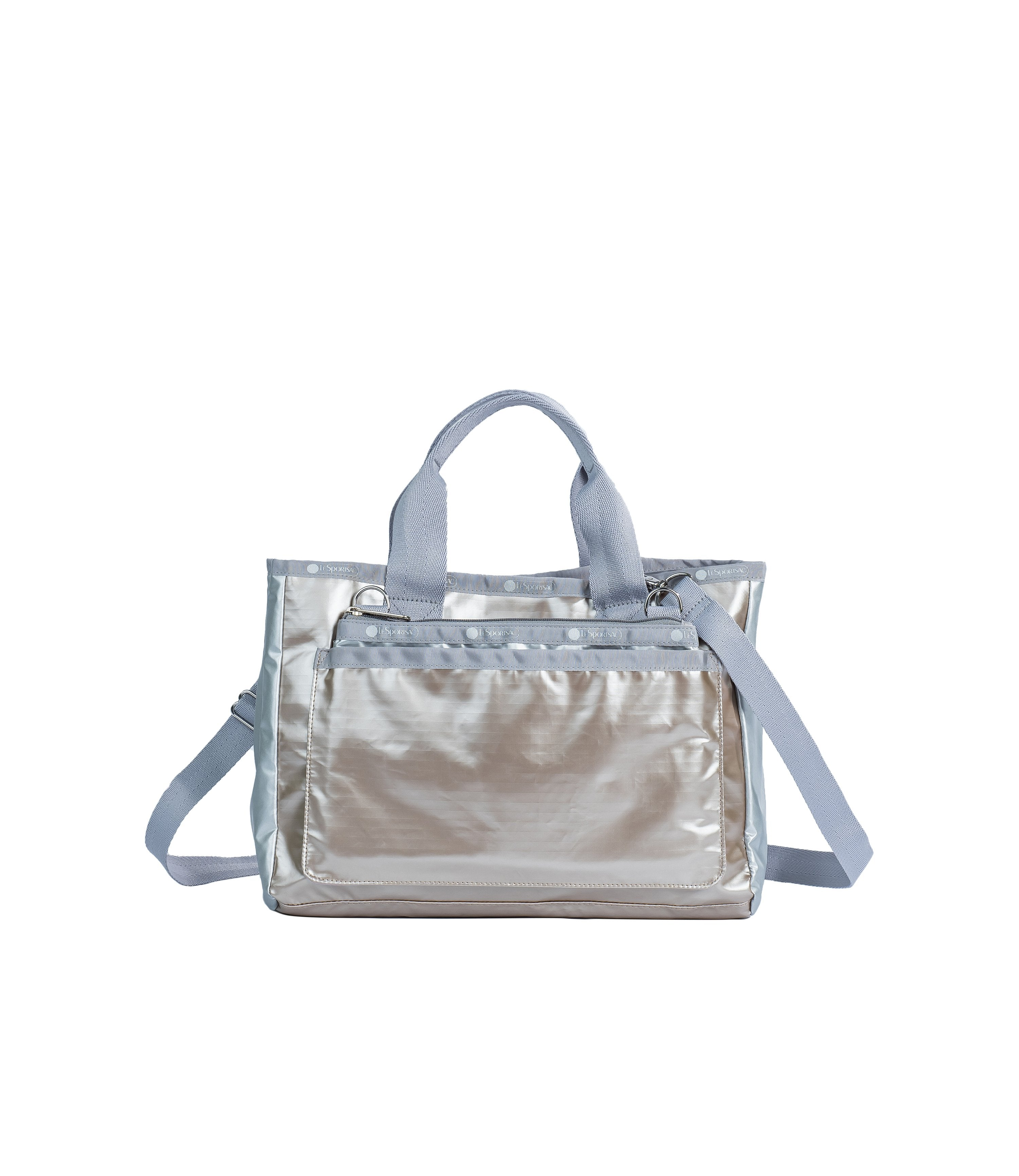 LeSportsac - Totes - Convertible Tote - Opal Mist Metallic