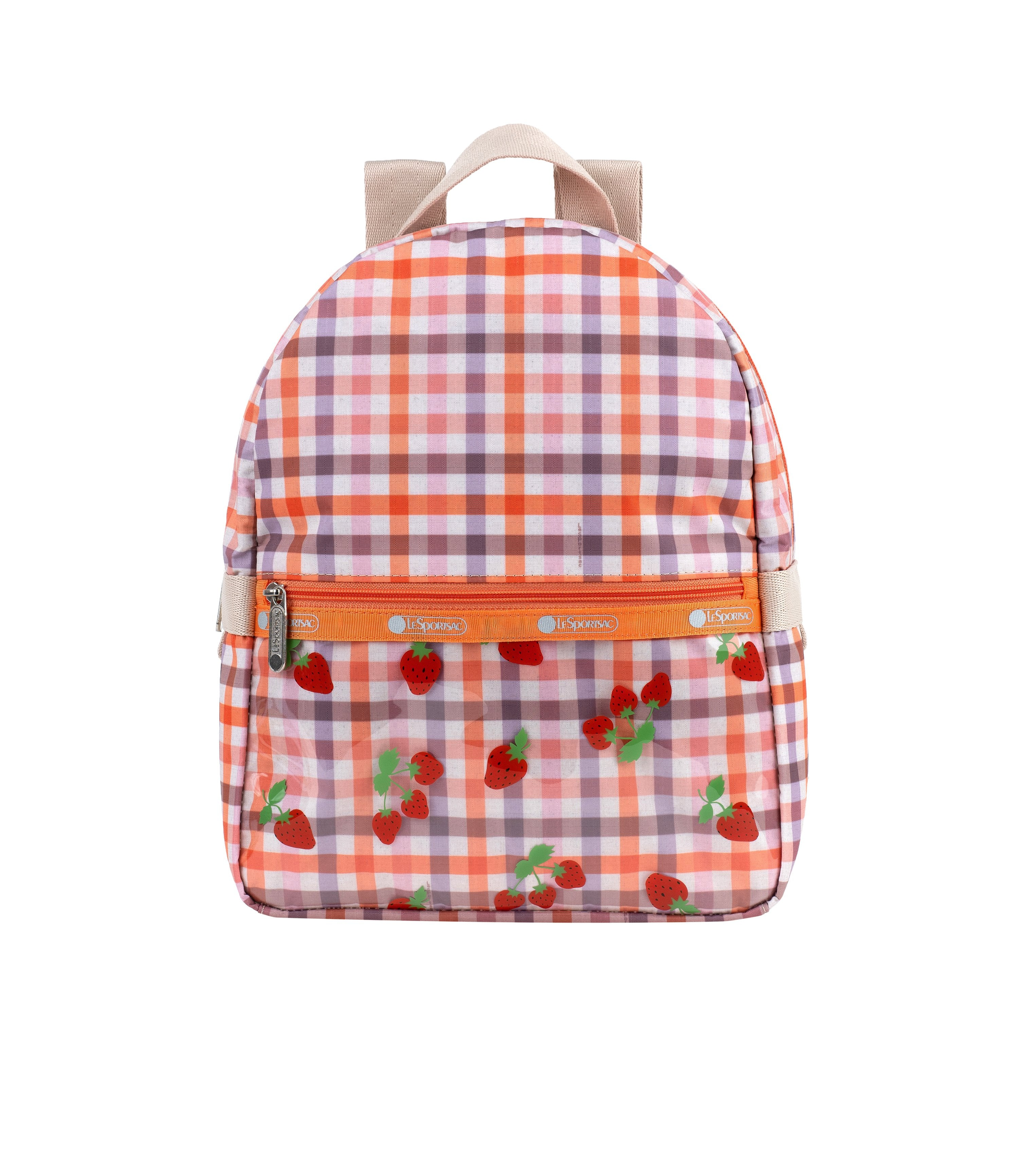 LeSportsac - Backpacks - Glass Small Carrier Backpack - Berry Basket