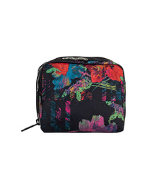 LeSportsac - Accessories - ReCycled Square Cosmetic - Eco Camellia Garden