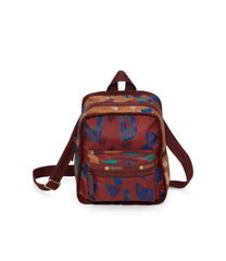 Adaptable Mini Backpack, Water Resistant Backpacks, Convertible, LeSportsac, Cheetaaah print
