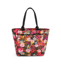 Traveling EveryGirl Tote, Women's Tote Bags & Tote Purses, Luggage Sleeve, LeSportsac, Harmonious print