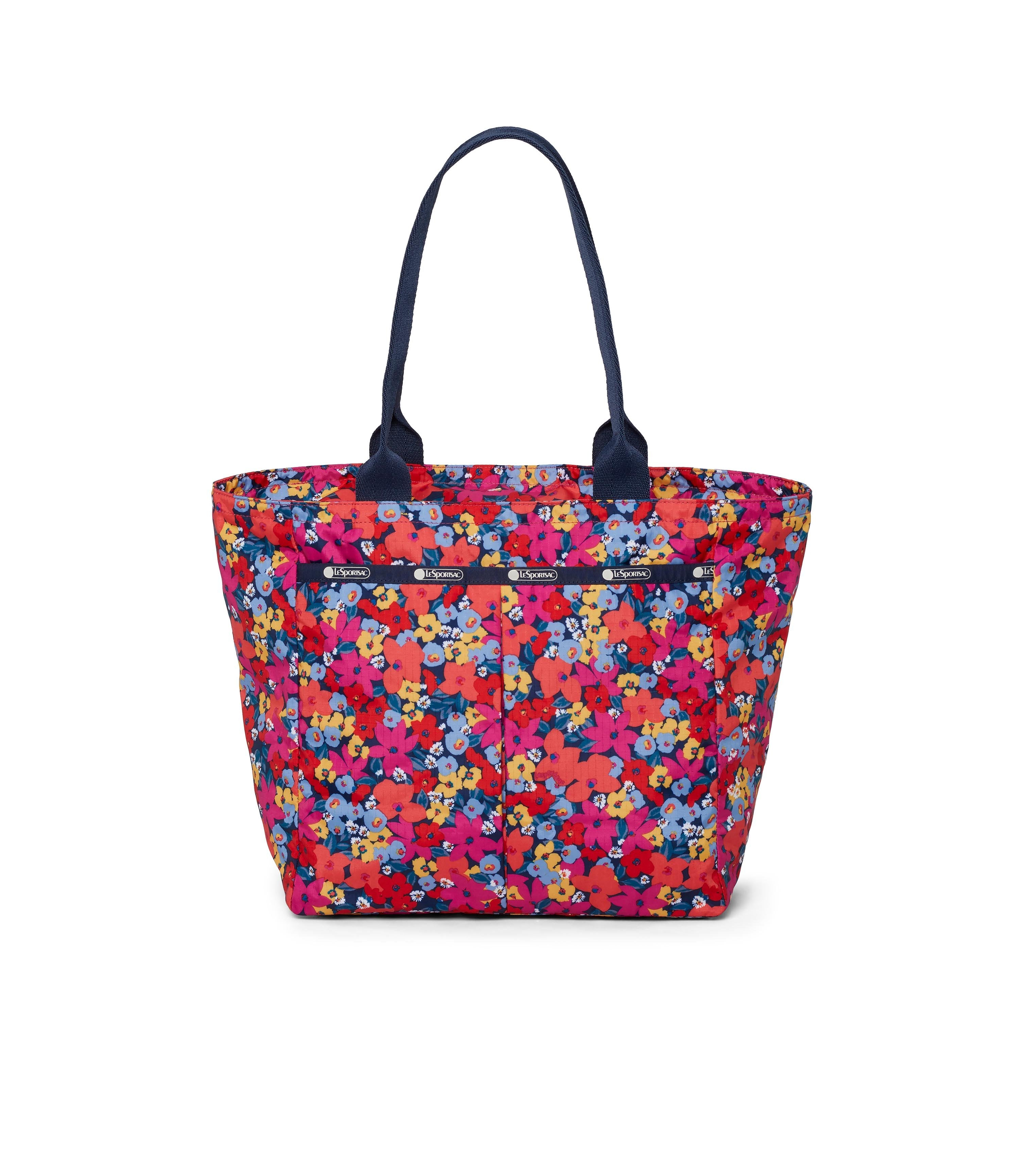 LeSportsac - Traveling EveryGirl Tote - Totes - Bright Isle Floral print