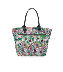 LeSportsac - Hawaii - Traveling EveryGirl Tote - Totes - Exclusive! Aloha Market print - Front View