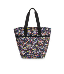 Large Elle Tote, Nylon Tote Bags, Carry-on, LeSportsac, Yaas print