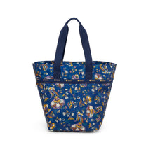 Large Elle Tote, Women's Tote Bags & Tote Purses, Carry-on, LeSportsac, Zen Garden print
