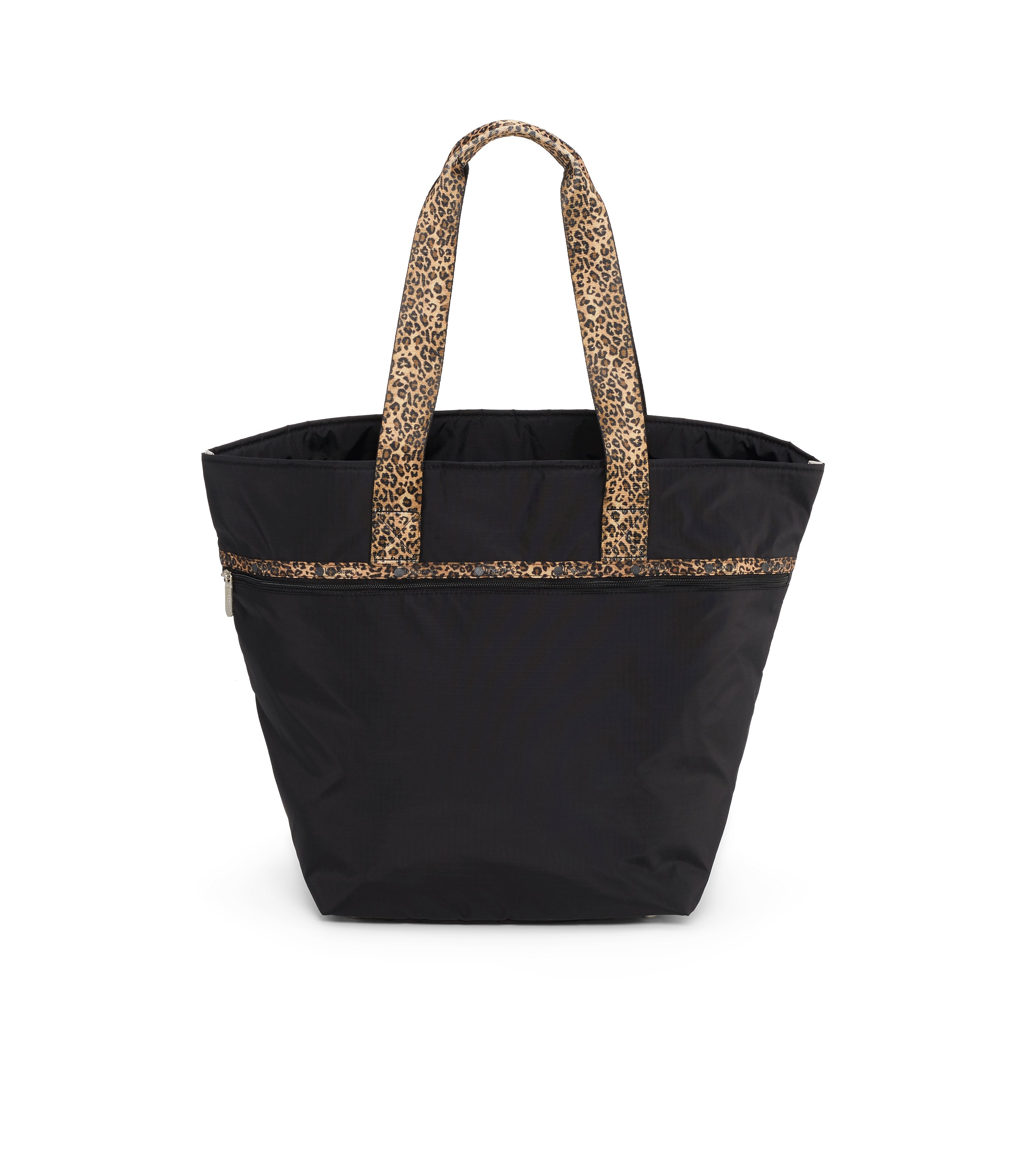 Large Elle Tote, Women's Tote Bags & Tote Purses, Carry-on, LeSportsac, Cheetah Noir