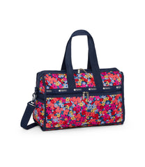 LeSportsac - Deluxe Medium Weekender - Weekenders - Bright Isle Floral print - Back View