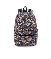 Essential Backpack 45, Water Resistant Backpack, LeSportsac, Yaas print