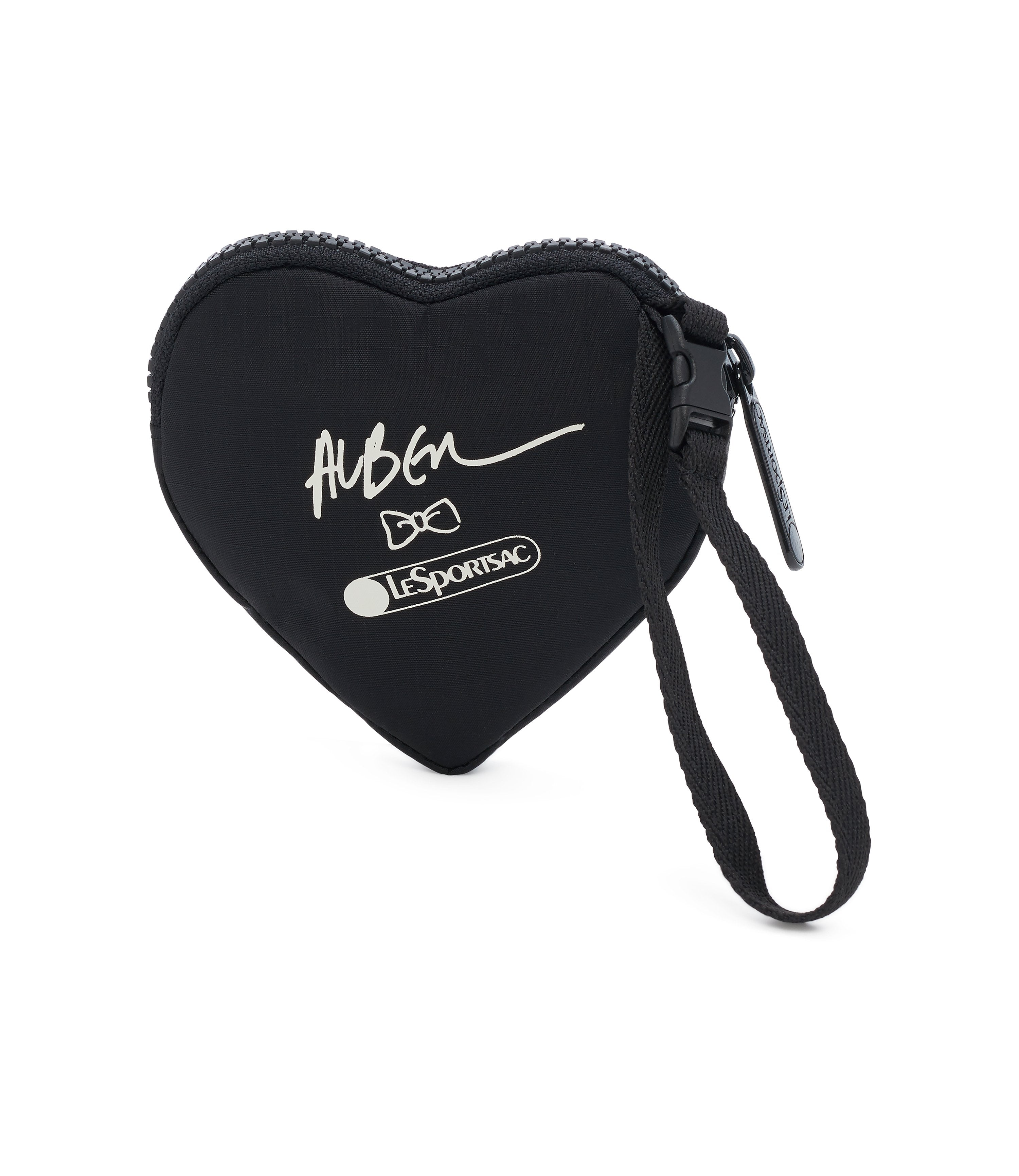 Graphic Heart Wristlet