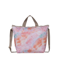 LeSportsac - Totes - Deluxe Easy Carry Tote - Coral Way print