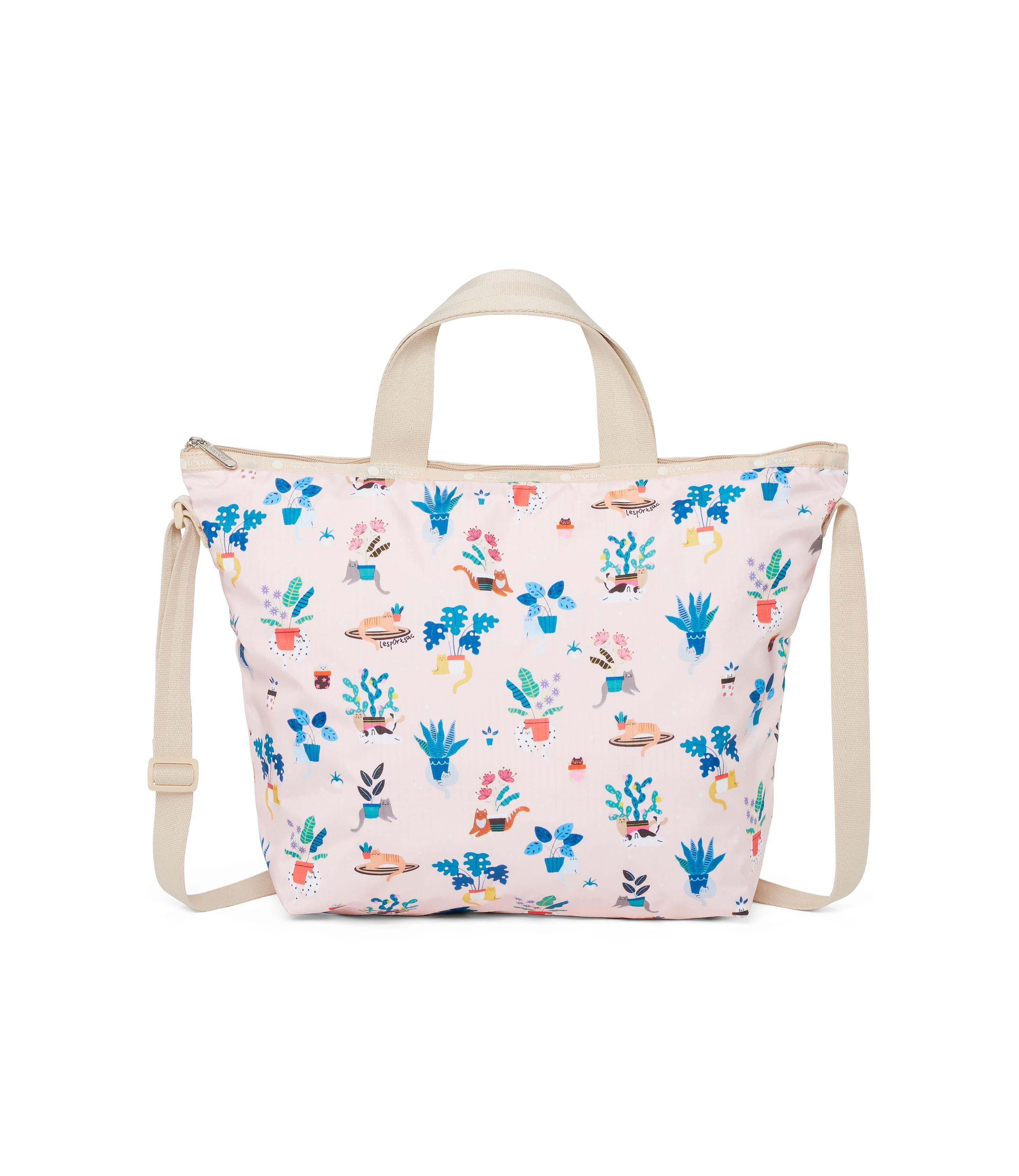 LeSportsac - Deluxe Easy Carry Tote - Totes - Comfy Cats print