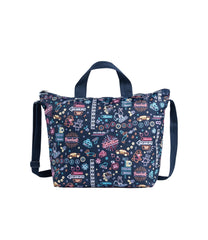 LeSportsac - Totes - Deluxe Easy Carry Tote - Neon Nights print