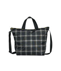 LeSportsac - Totes - Deluxe Easy Carry Tote - Sweet Plaid Noir print