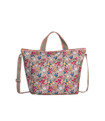 LeSportsac - Totes - Deluxe Easy Carry Tote - Sketched Stars print