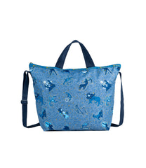 LeSportsac - Totes - Deluxe Easy Carry Tote - Zodiac Sky print