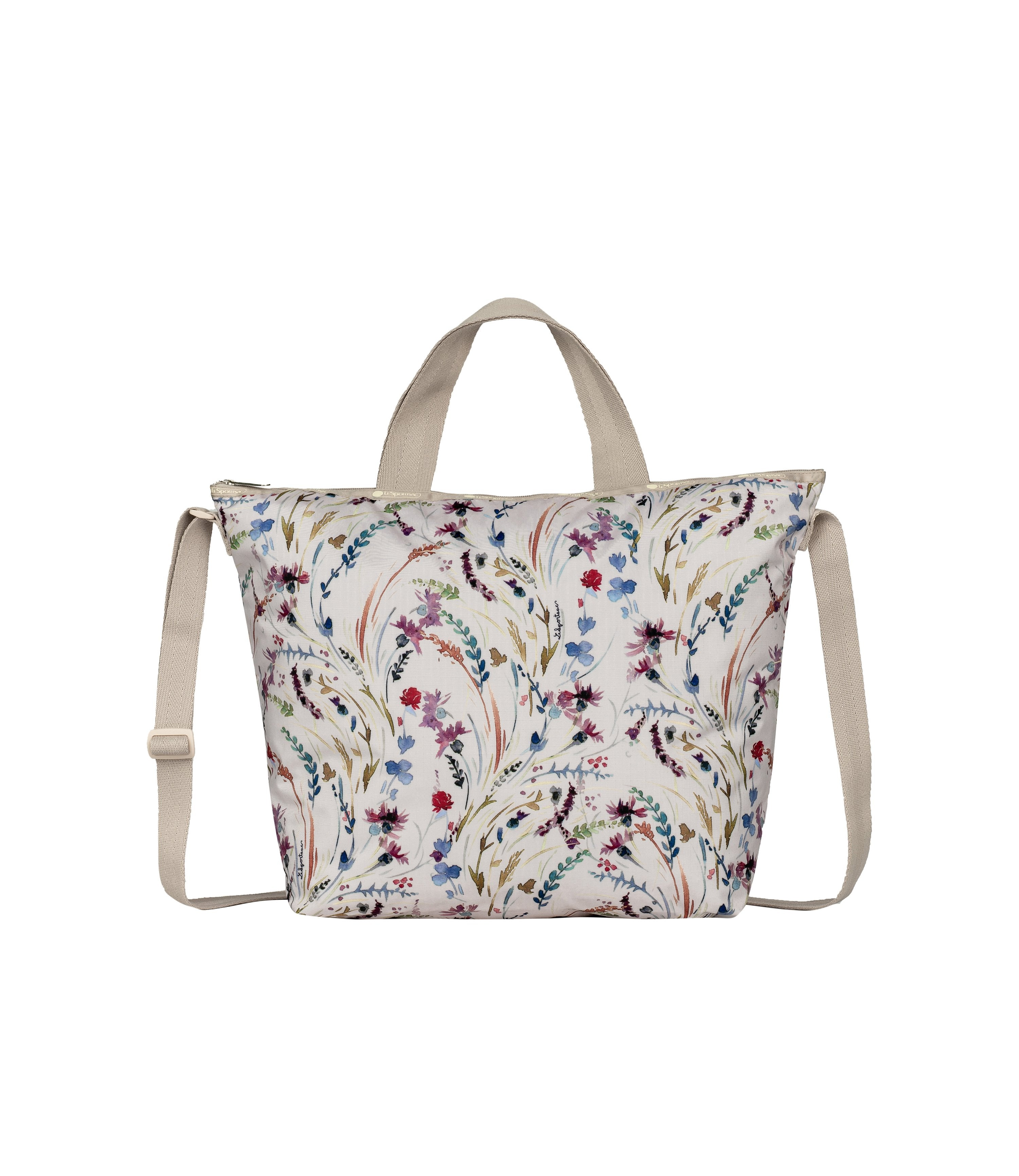 LeSportsac - Totes - Deluxe Easy Carry Tote - Windswept Floral print