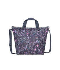 LeSportsac - Totes - Deluxe Easy Carry Tote - Windswept Floral Shadow print