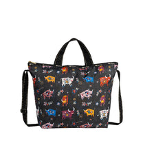 LeSportsac - Totes - Deluxe Easy Carry Tote - Happy Ox print