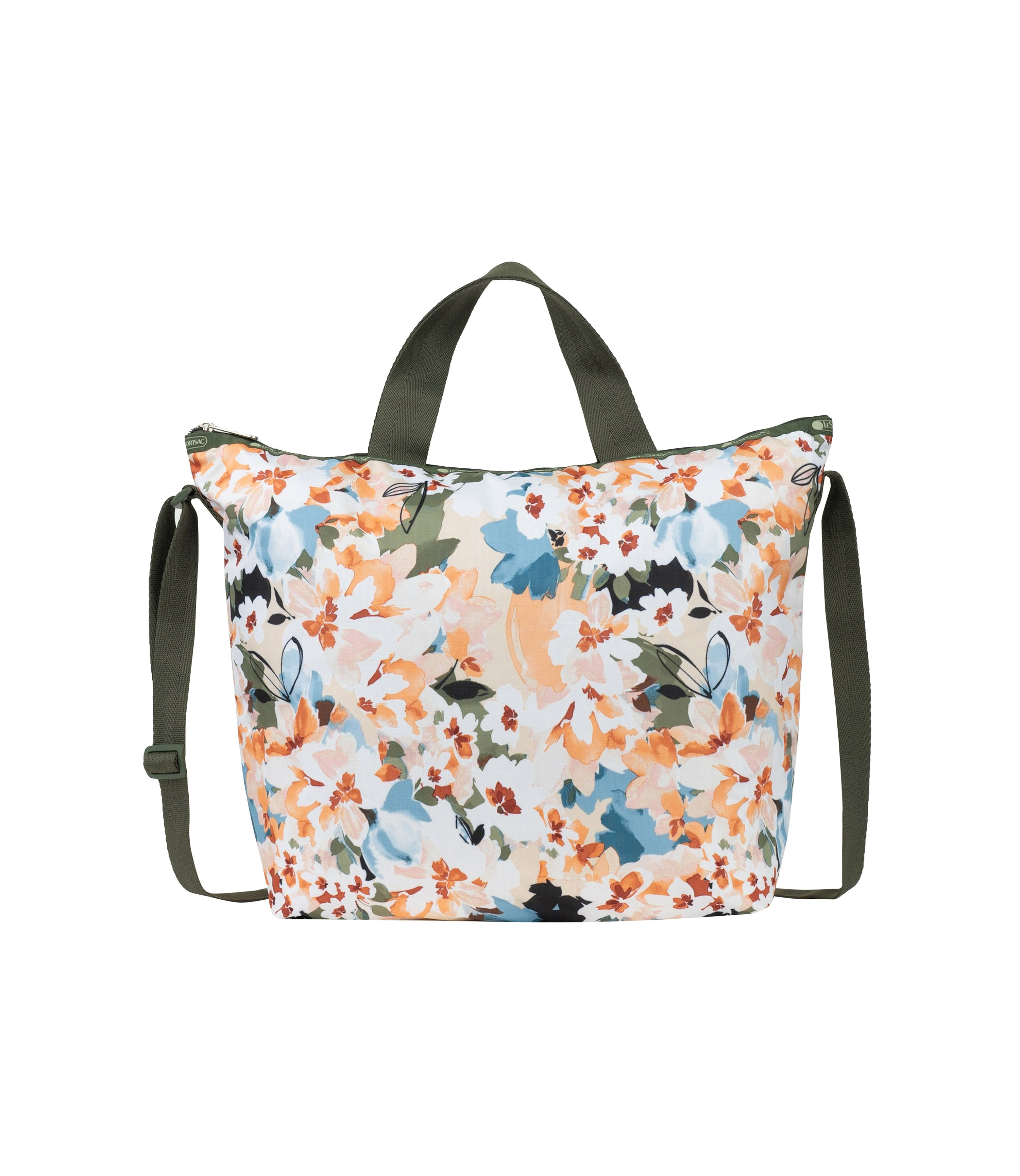 LeSportsac - Totes - Deluxe Easy Carry Tote - Painterly Blooms print