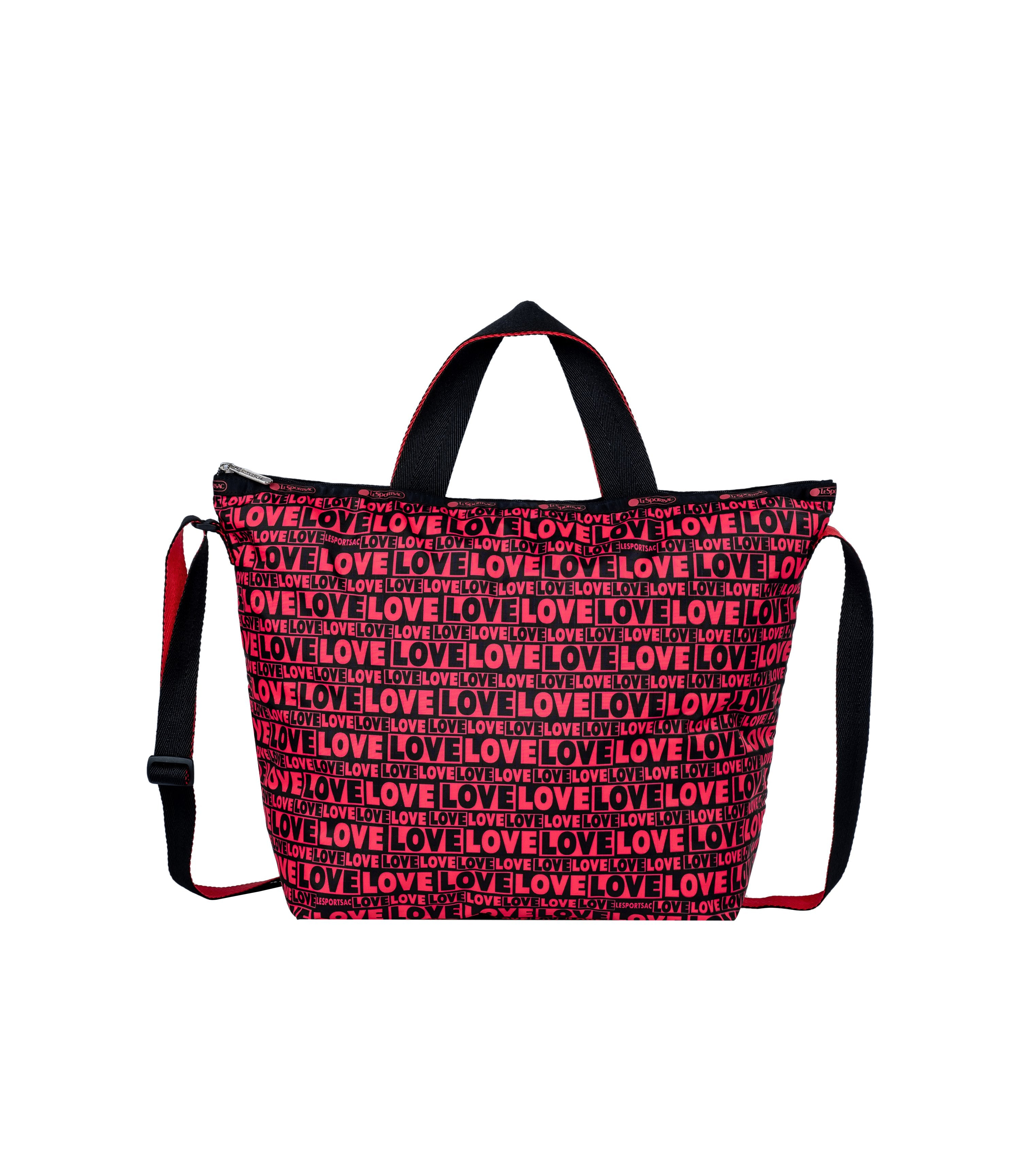 LeSportsac - Totes - Deluxe Easy Carry Tote - Only Love print