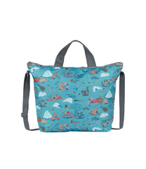 LeSportsac - Totes - Deluxe Easy Carry Tote - Fantastic Day print